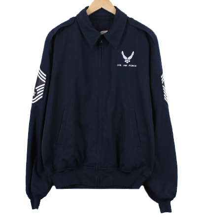90'S U.S AIR FORCE ARMY 자켓 (L) @5336