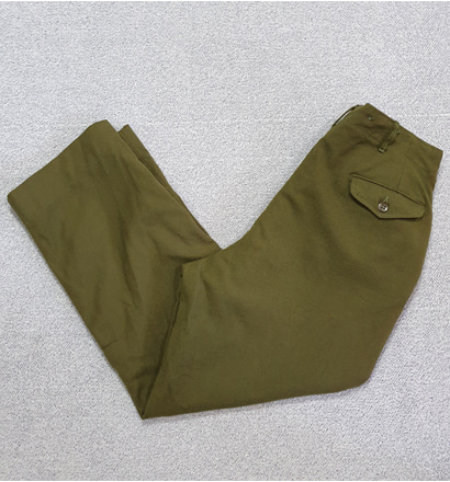 50'S US ARMY M-51 FIELD WOOL TROUSER (33인치추천) A606